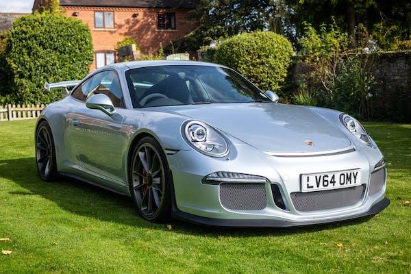 2014 PORSCHE 911 (991) GT3 - 4,468 MILES