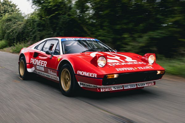 1981 FERRARI 308 GROUP 4 RECREATION - CURRENT FIA HTP PAPERS