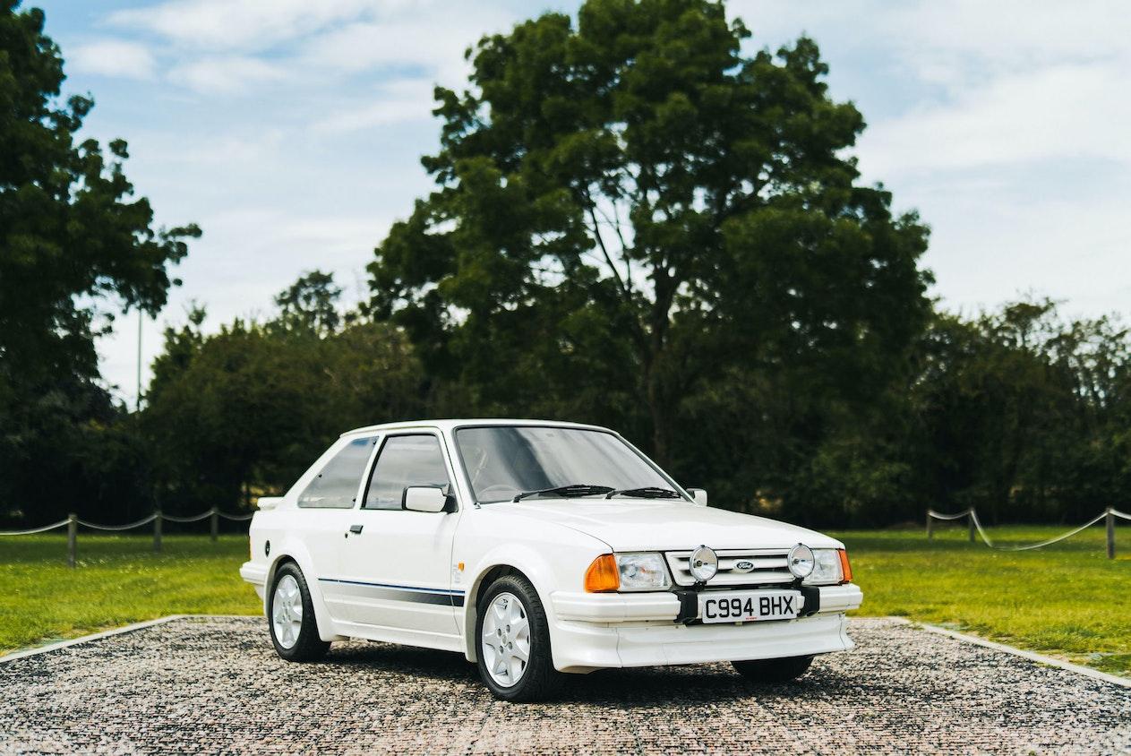 1986 FORD ESCORT RS TURBO