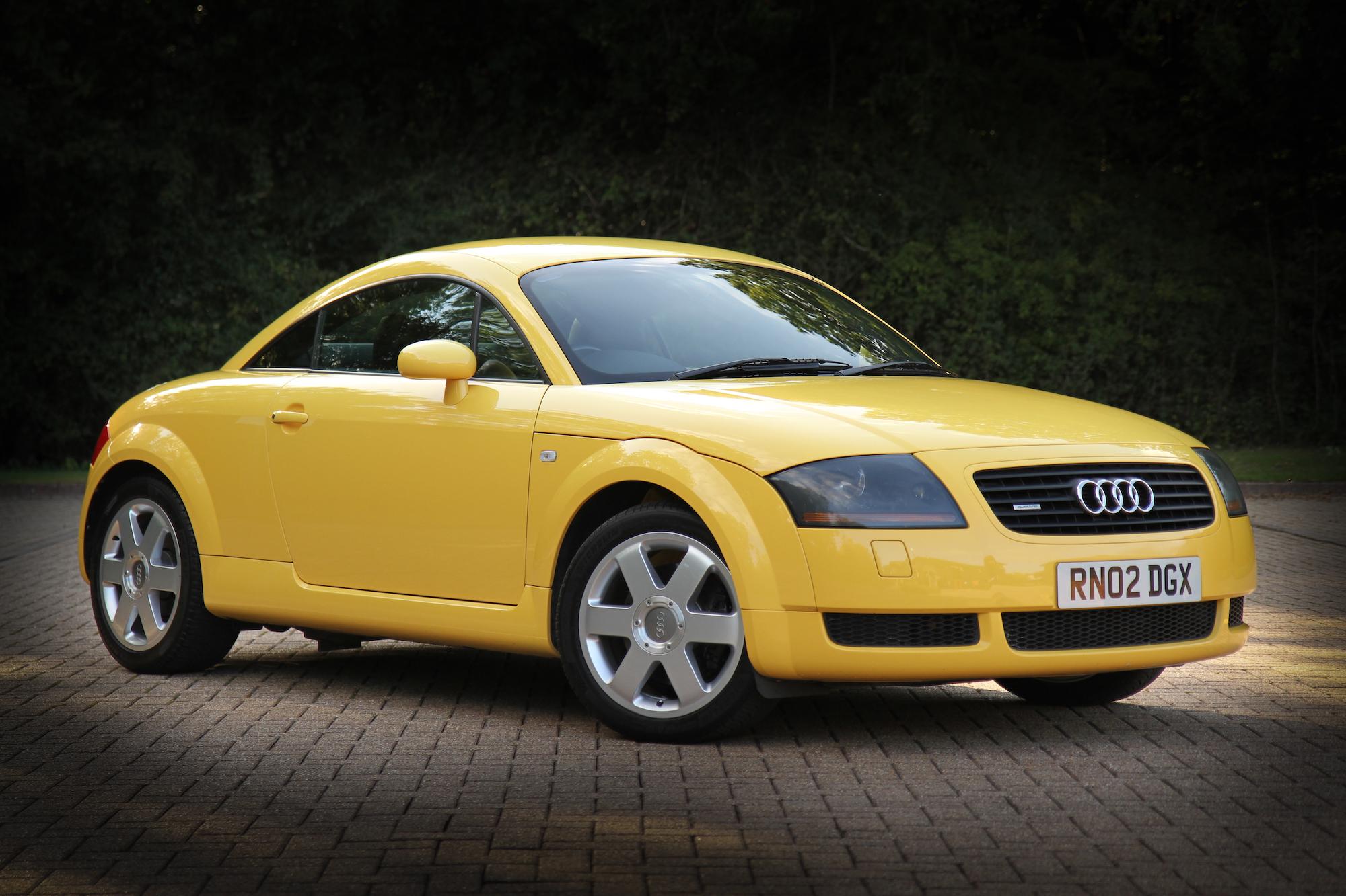 2002 AUDI TT 1.8T QUATTRO