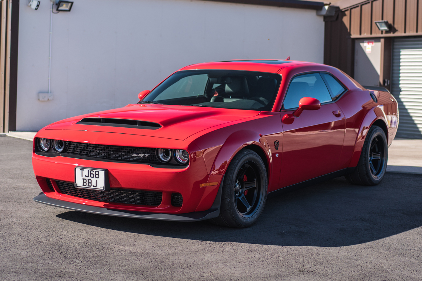 2018 Dodge Challenger Srt Demon 131 Miles