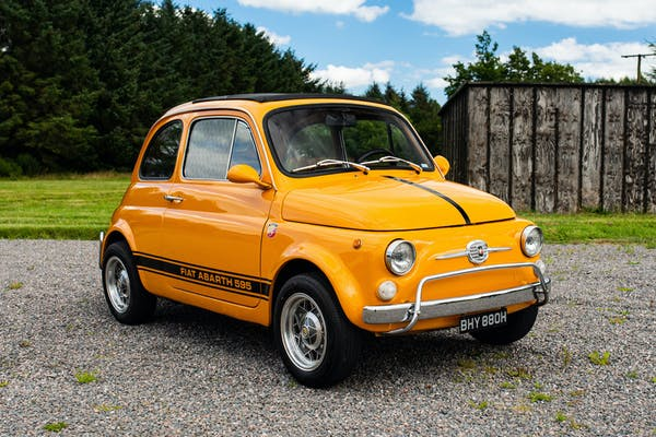 1969 FIAT 500L - ABARTH 595 REPLICA