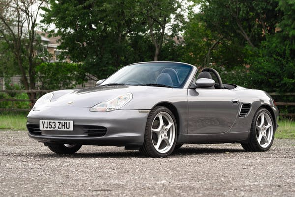 NO RESERVE: 2003 PORSCHE (986) BOXSTER 2.7 - MANUAL