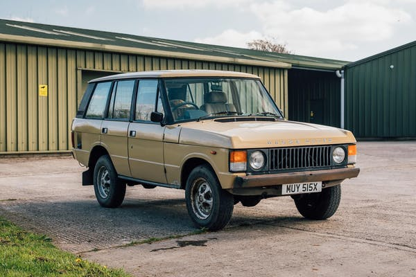 1981 RANGE ROVER CLASSIC 4 DOOR - PROJECT CAR