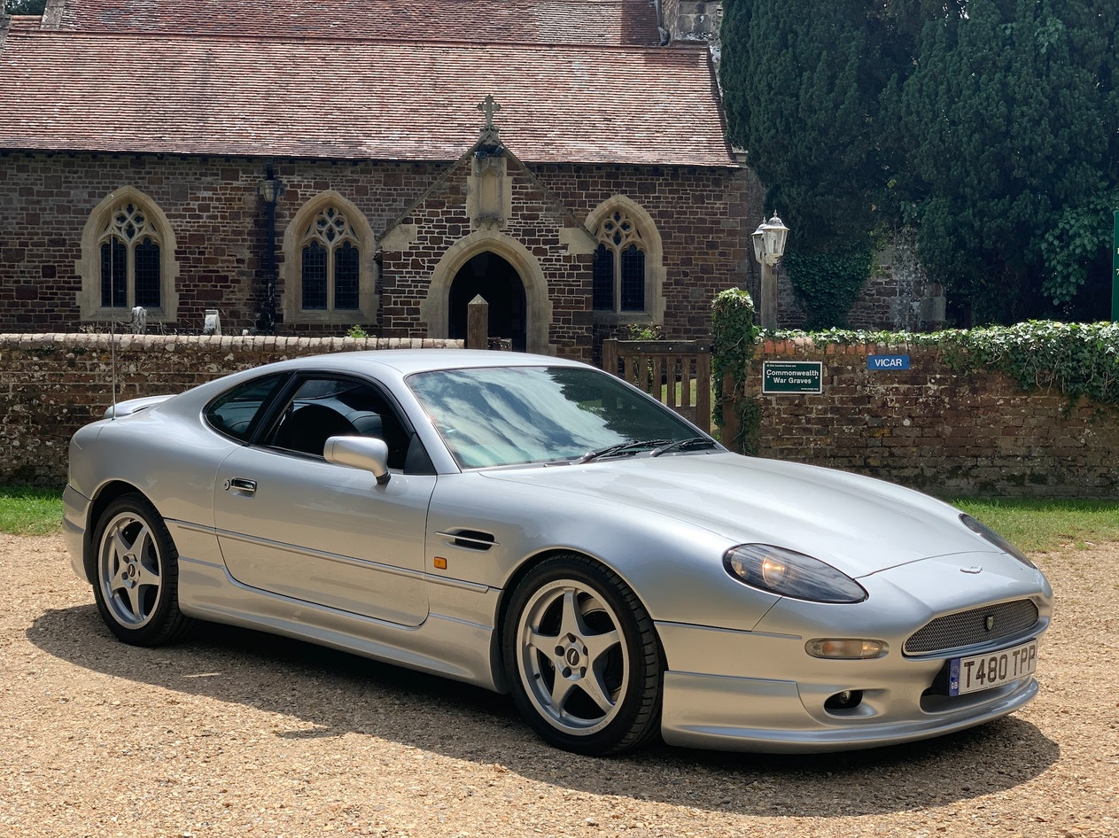1999 ASTON MARTIN DB7 ALFRED DUNHILL COUPE