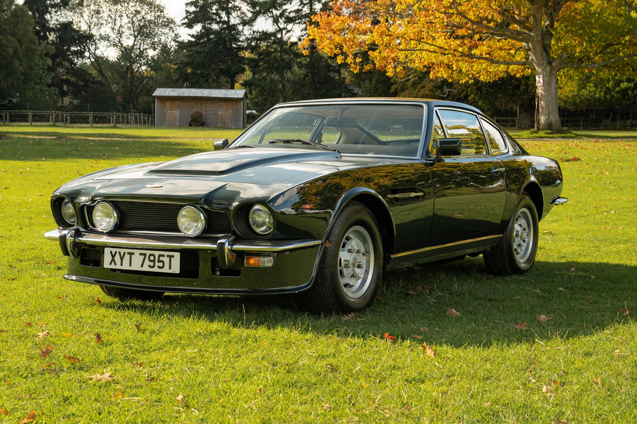 1978 Aston Martin V8 Oscar India Manual