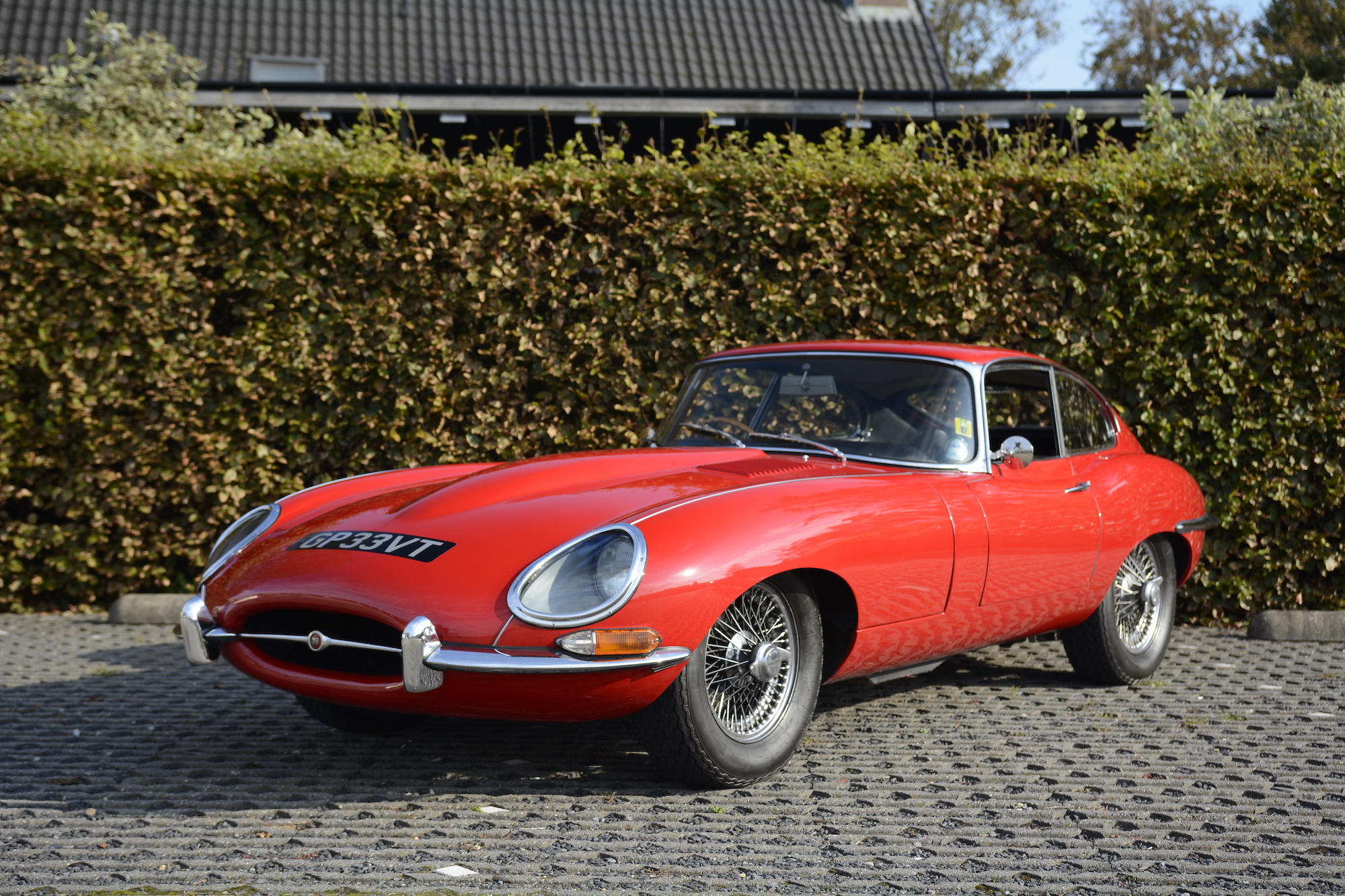 1968 JAGUAR E-TYPE SERIES 1 4.2 FHC
