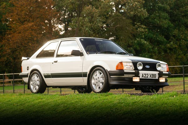 1983 FORD ESCORT RS1600i - 1,932 MILES FROM NEW