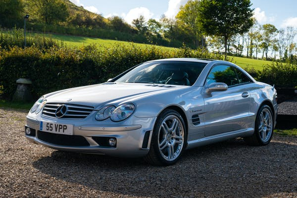 2004 MERCEDES-BENZ SL 55 AMG - PERFORMANCE PACKAGE