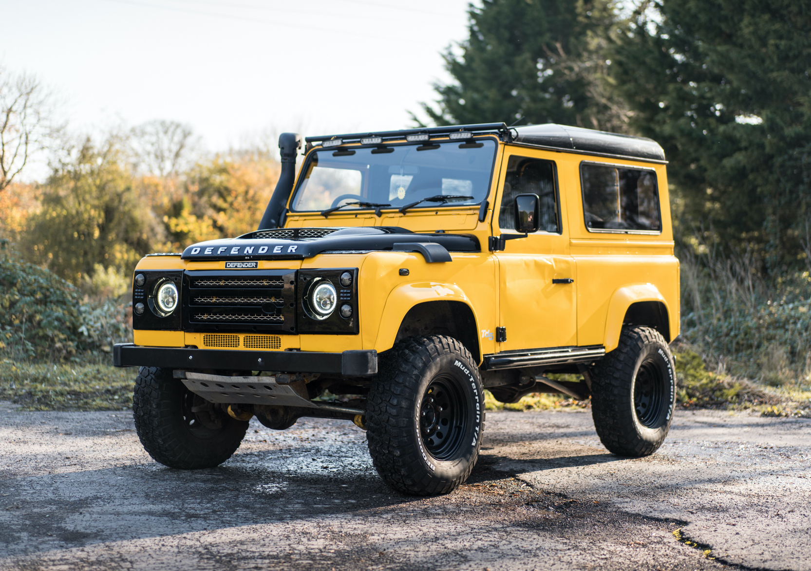 2001 LAND ROVER DEFENDER 90 - CUSTOM