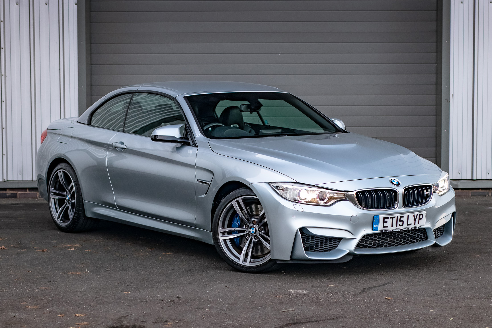 2015 BMW M4 CONVERTIBLE - MANUAL