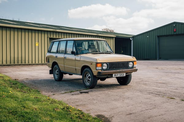 PROJECT CAR - 1981 RANGE ROVER CLASSIC