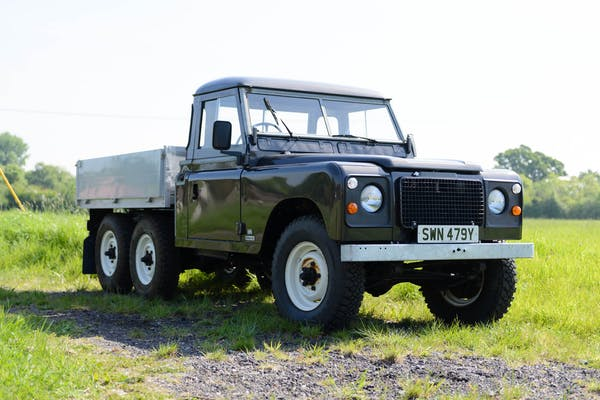 1982 LAND ROVER SERIES III STAGE 1 6x6