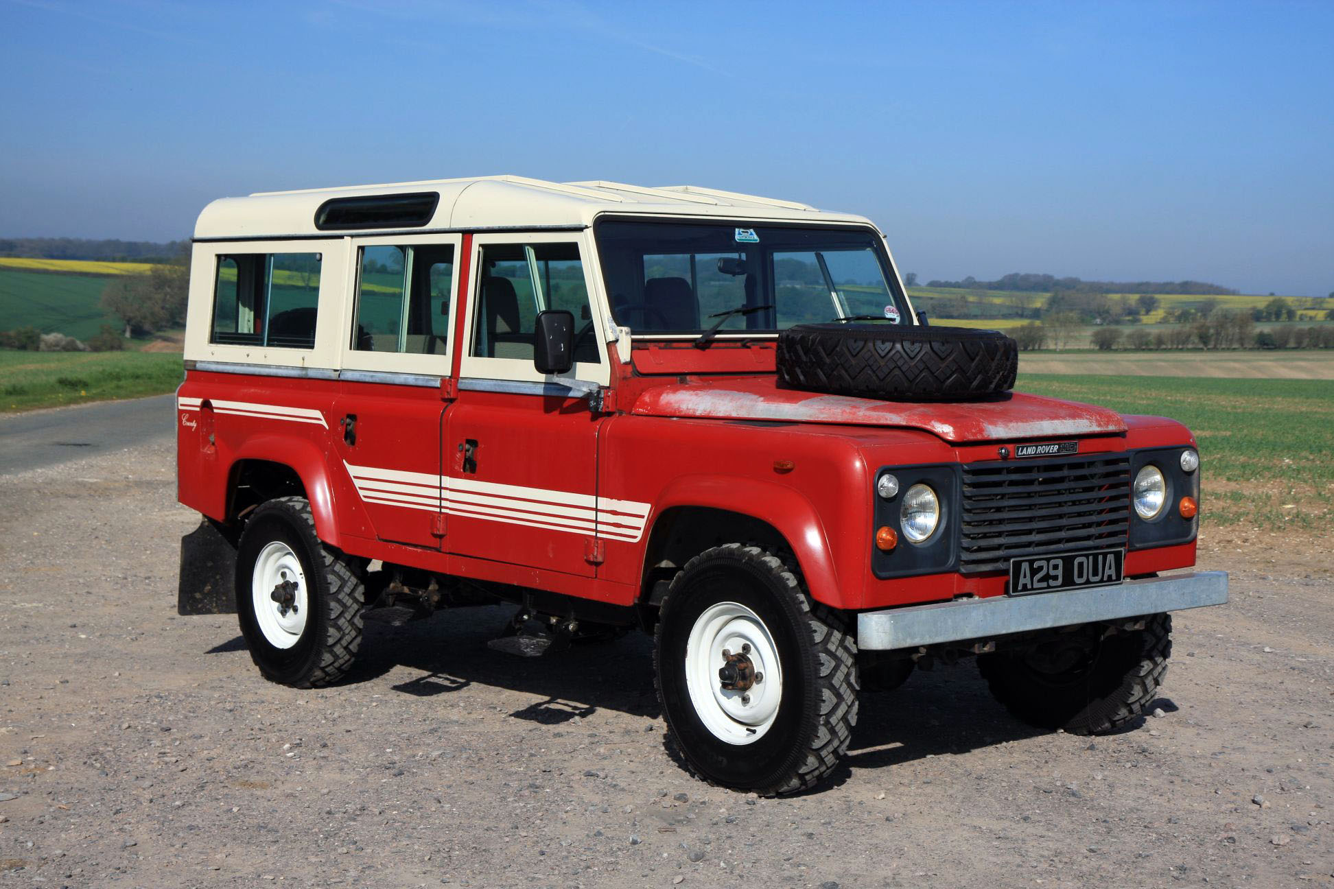 1983 LAND ROVER 110 COUNTY STATION WAGON