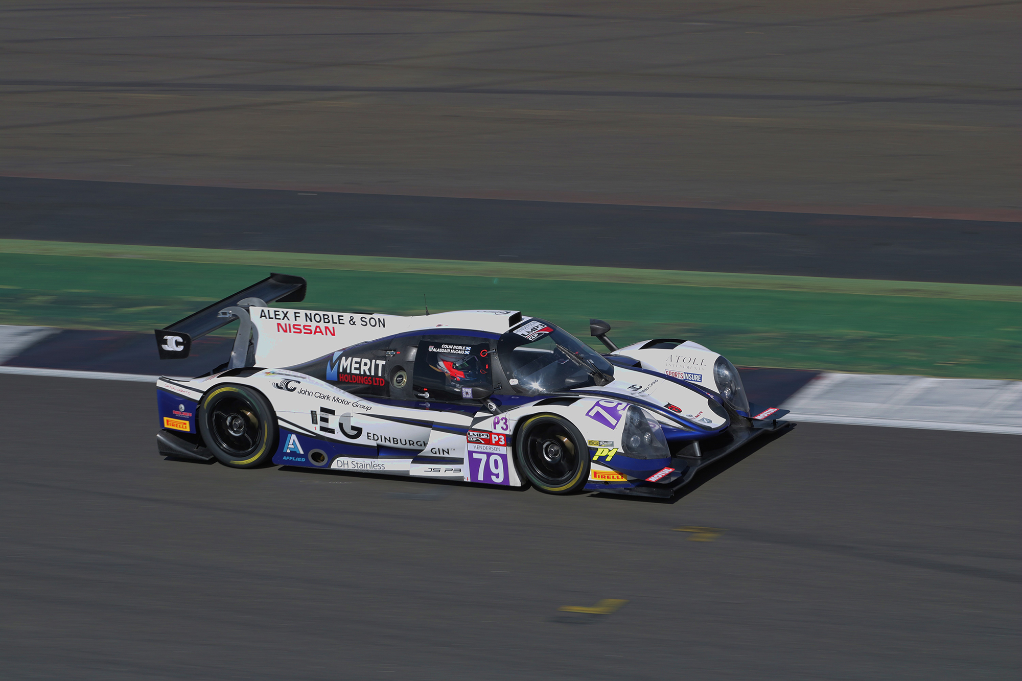 2017 LIGIER JS P3 OR03-75 - CHAMPIONSHIP WINNING RACECAR