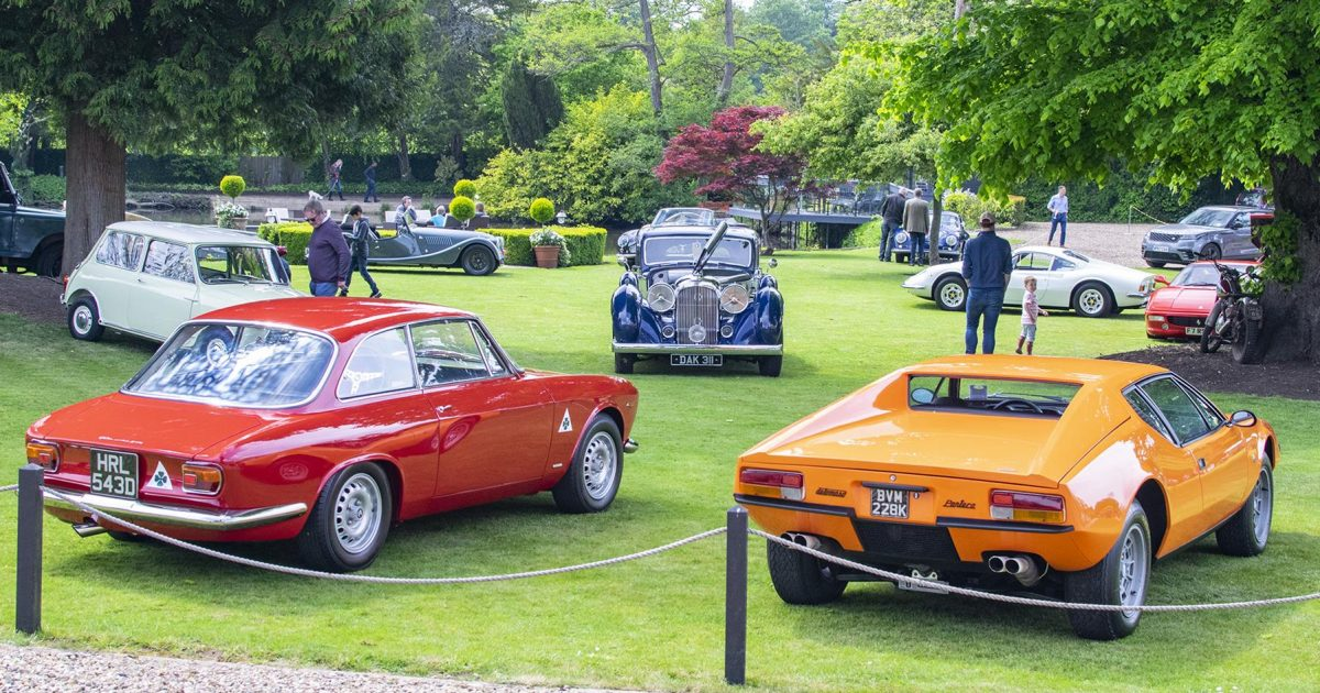 A garden party with all manner of classics