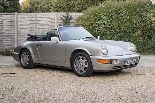 1990 PORSCHE 911 (964) CARRERA CABRIOLET