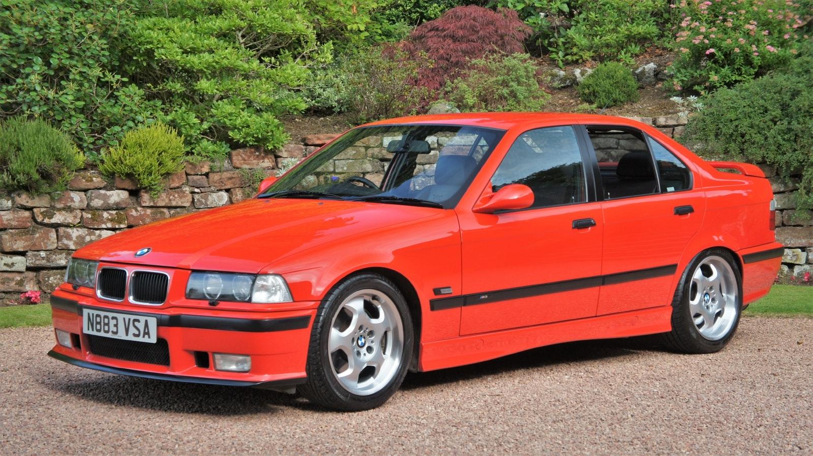 1995 Bmw E36 M3 3 0 Saloon