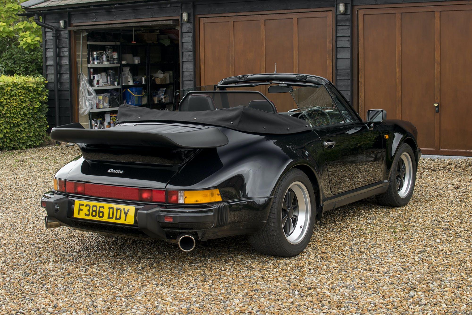 1988 Porsche 911 930 Turbo Cabriolet