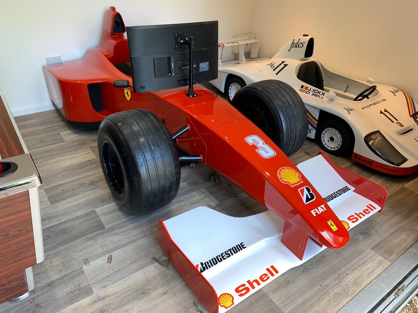 FERRARI F1 PS4 STATIC RACING SIMULATOR
