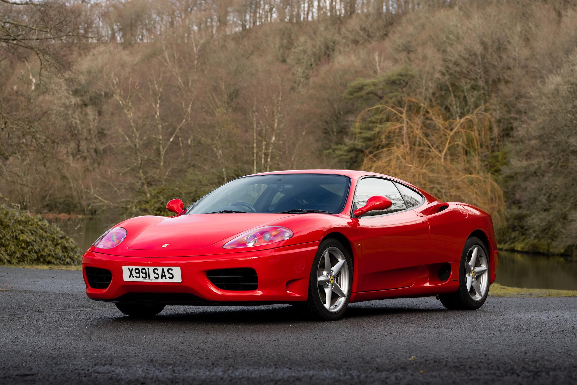 2000 Ferrari 360 Modena Manual