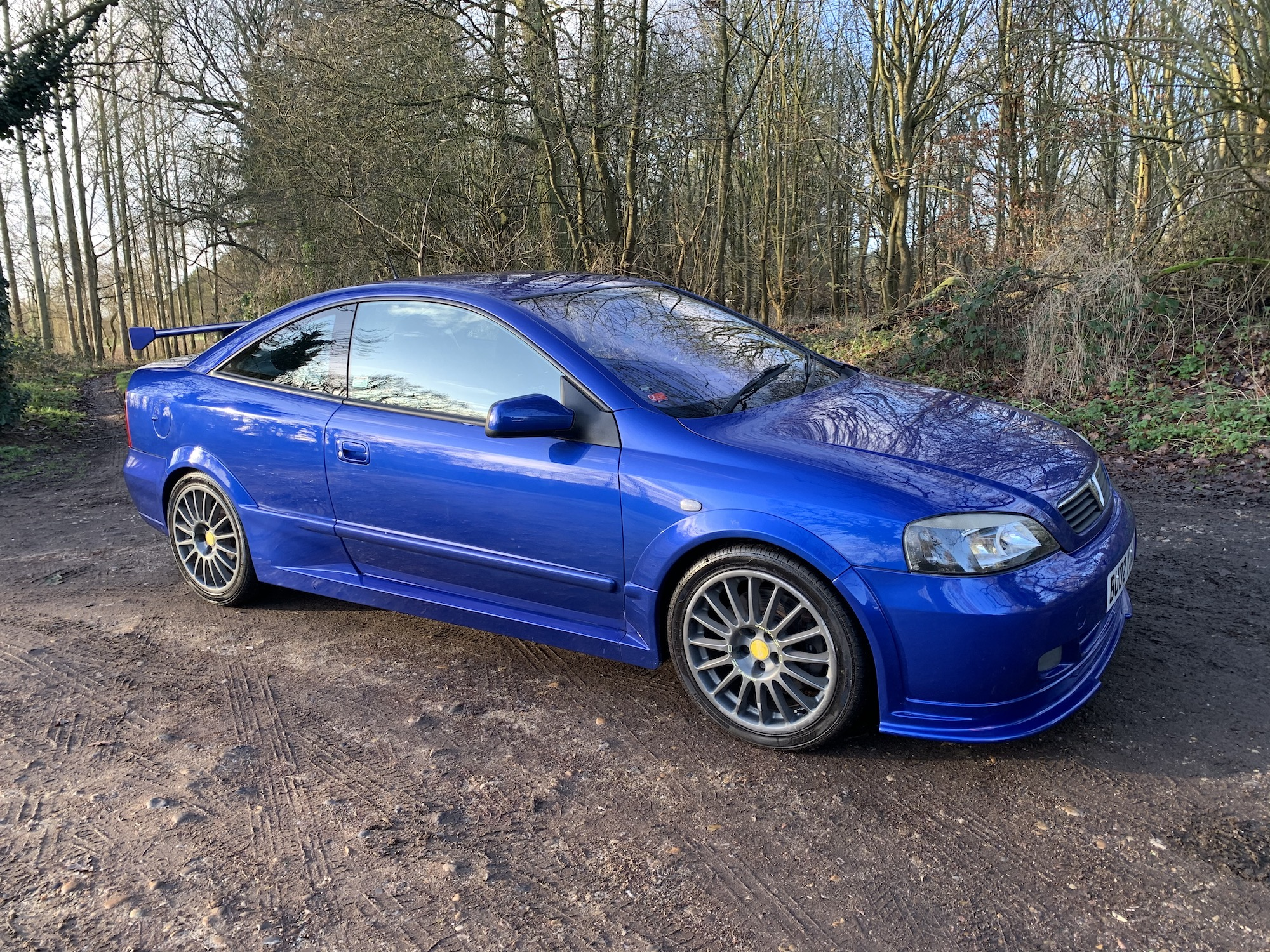 2002 VAUXHALL ASTRA COUPE 888